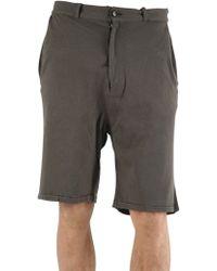 Silent - Damir Doma - Heavy Jersey Shorts - Lyst