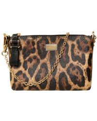Dolce & Gabbana Mini4 Clutch animal - Lyst