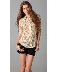 Textile Elizabeth and James Austin Shirt - Lyst