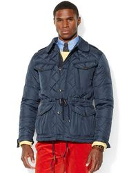 Polo Ralph Lauren Fillmore Quilted Combat Jacket - Lyst