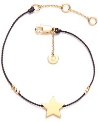 Daisy London - Daisy Good Karma Star Bracelet - Lyst