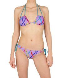 Magda Gomes Beachwear | Printed Bikini Bathing Suit | Lyst