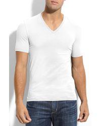 Hugo Dredoso Extra Trim Fit V-neck T-shirt - Lyst
