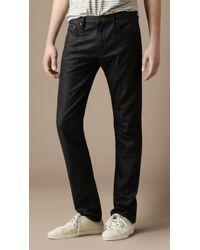 Burberry Brit - Cavendish Straight Leg Jeans - Lyst