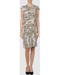 Blumarine Short Dresses - Lyst