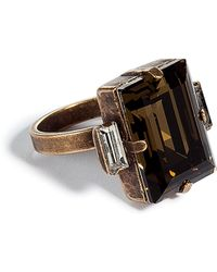 DANNIJO - The Cato Amber Ring - Lyst