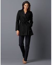 Via Spiga Scarpa Double-Breasted Skirted Trench - Lyst