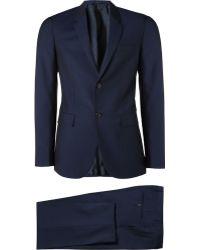 Jil Sander Wool and Mohair-blend Suit - Lyst