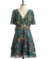 ModCloth First Impressionists Dress - Lyst