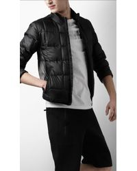 Burberry Sport Down Filled Quilted Jacket - Black