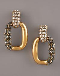 Oscar de la Renta Link Earrings - Lyst
