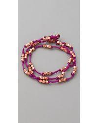 Vanessa Mooney - Lola 3 Wrap Bracelet - Lyst