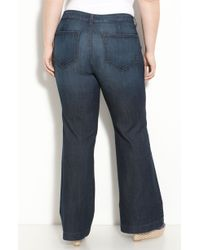 Not Your Daughter's Jeans Tori Wide Leg Sailor Jeans - Lyst