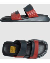 Enrico Fantini Clog Sandals - Lyst