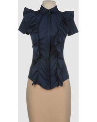 Elisabetta Franchi For Celyn B Short Sleeve Shirts - Lyst