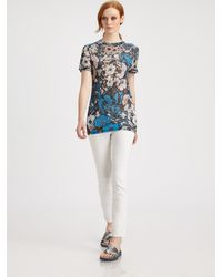 Christopher Kane Floral Tee - Lyst