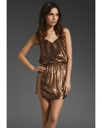 Haute Hippie Bang Bang Dress - Lyst