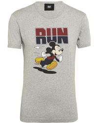 D&G Mickey Mouse T-shirt - Lyst