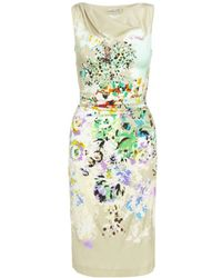 Etro Floral Printed Dress - Lyst
