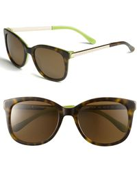 Kate Spade Gayla Oversized Polarized Sunglasses - Lyst