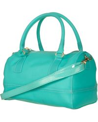 Topshop Frosted Plastic Holdall - Lyst