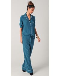 Equipment - Avery Pyjama Set - Lyst