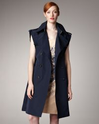Jean Paul Gaultier - Sleeveless Open-sided Trenchcoat - Lyst