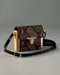 Lanvin Python Camera Bag - Lyst