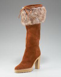 Ralph Lauren Collection - Trixie Boot - Lyst