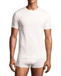 Calvin Klein Crewneck T-Shirt, (2-Pack) - Lyst