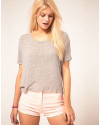 ASOS Collection Asos T-shirt in Slouch Loose Knit - Lyst