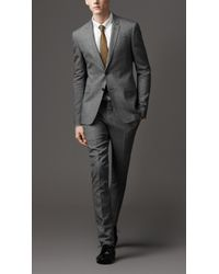 Burberry Wool and Mohair Slim Fit Suit - Lyst
