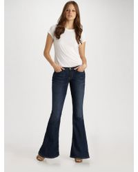 Current/Elliott The Low Rise Bell Jeans - Lyst