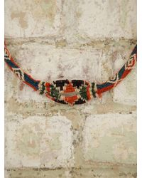 Free People Vintage Hand Woven Necklace - Lyst