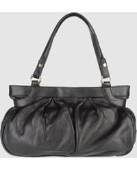 Bruno Magli - Large Leather Bag - Lyst