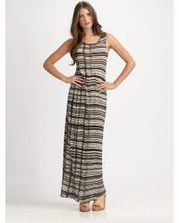 Acne Studios Colleen Striped Jersey Dress - Lyst