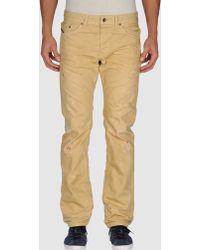Diesel Black Gold Denim Trousers - Lyst