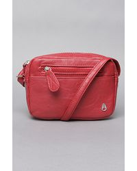 Nixon The Backstage Crossbody Bag in Red - Lyst