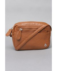 Nixon The Backstage Crossbody Bag in Saddle - Lyst
