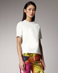 Peter Som - Boxy Knit Top - Lyst