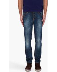 Nudie Jeans Grim Tim Organic Jeans - Lyst