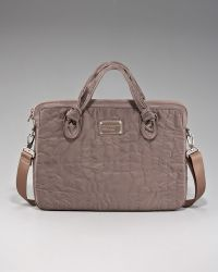 Marc By Marc Jacobs Pretty Nylon Computer Commuter Bag 13 - Gray
