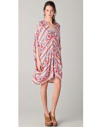 Rachel Pally Short Gwyneth Caftan Dress multicolor - Lyst