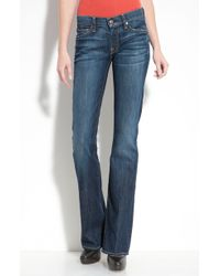 7 For All Mankind Bootcut Jeans blue - Lyst