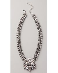 Dannijo Talford Necklace - Lyst