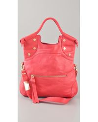 Foley + Corinna Lady City Tote pink - Lyst
