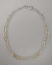 Giles & Brother - Archer Multi-chain Necklace - Lyst
