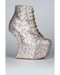 Jeffrey Campbell The Night Lita Shoe in Multi Glitter (exclusive) - Lyst