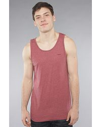 RVCA The Ttc 2 Tank in Red Grease - Lyst
