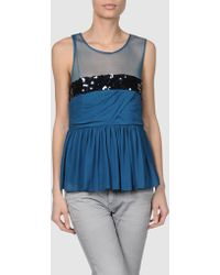 See By Chloé Sleeveless Top - Lyst
